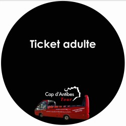 Ticket Adulte Cap Antibes Tour
